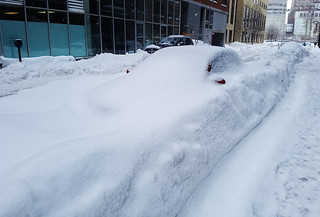 March 2017 Blizzard - Car buried by snow in Montreal | by Coastal Elite