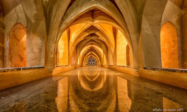 Baños de María de Padilla, Alcazar de Sevilla, Spain