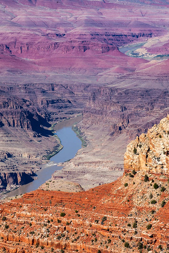 You can see a sliver of the Colorado River here | by Alaskan Dude