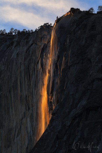 Nature's Firefall