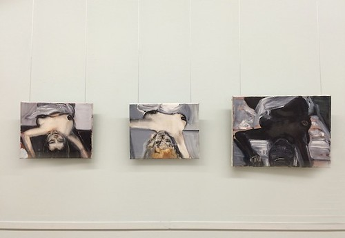 Marlene Dumas The Blonde, the Brunette and the Black Woman, 1992 Installation view, MANIFESTA 10, Winter Palace, State Hermitage Museum, 2014. | by artfridge