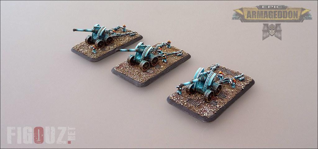 Earthshakers Cannons - Death Korps Of Krieg - 6mm miniatur… | Flickr