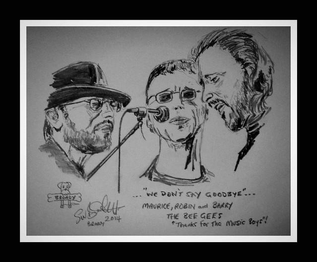 bee gees by broady 2014