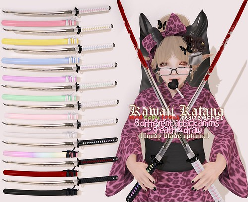 .tsg. Kawaii Katanas | by Eilfie Sugarplum