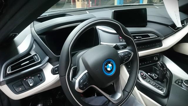 BMW i8 spatial