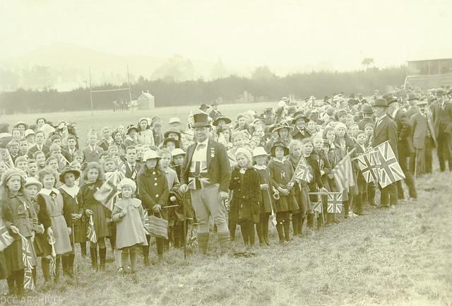 Peace Celebrations 1908, Recreation Ground, Mosgiel