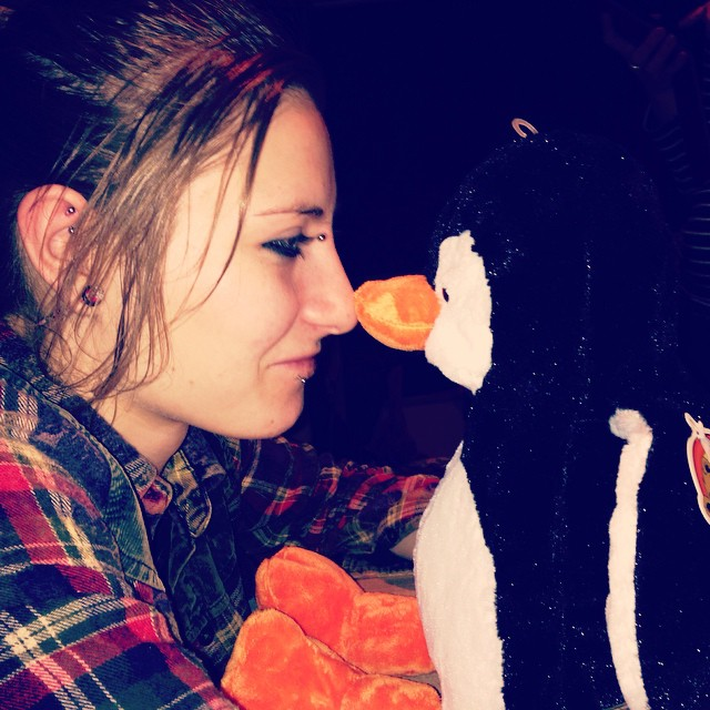 myself #noses #penguin #blackpool #from #sea #life #off #… | Flickr