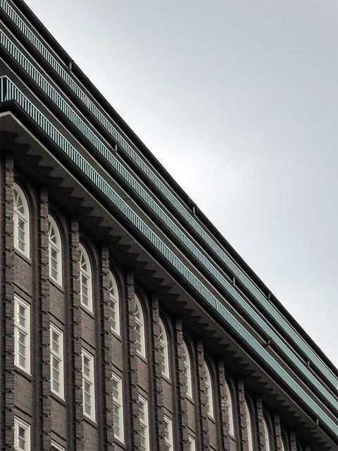 Kontorhaus 'Chilehaus', Fritz Höger, 1922-1924.