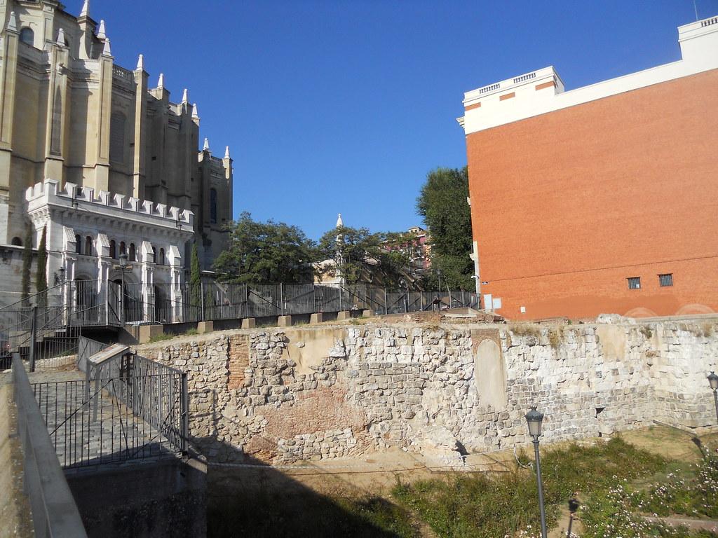 Madrid (Spagna): mura arabe del IX sec. d.C.