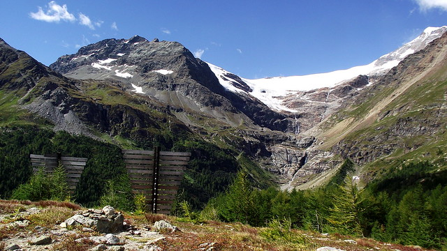 Il ghiacciaio di Palü