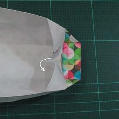 วิธีพับกล่องของขวัญแบบมีฝาปิด (Origami Present Box With Lid) 026