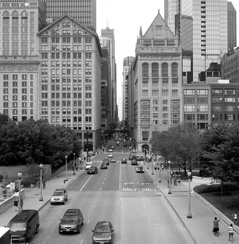 """Image titled """"Above the Road, Chicago."""""""
