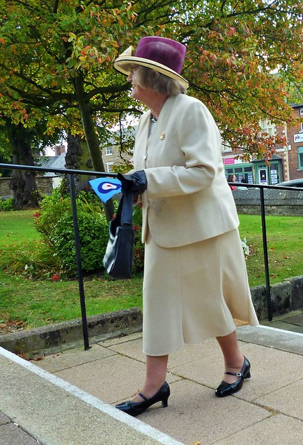 Her Grace Joyce Lucas BEM Freedom of Entry granted by Oakham Town Council to 504 Squadron Royal Auxiliary Air Force, RAF Wittering