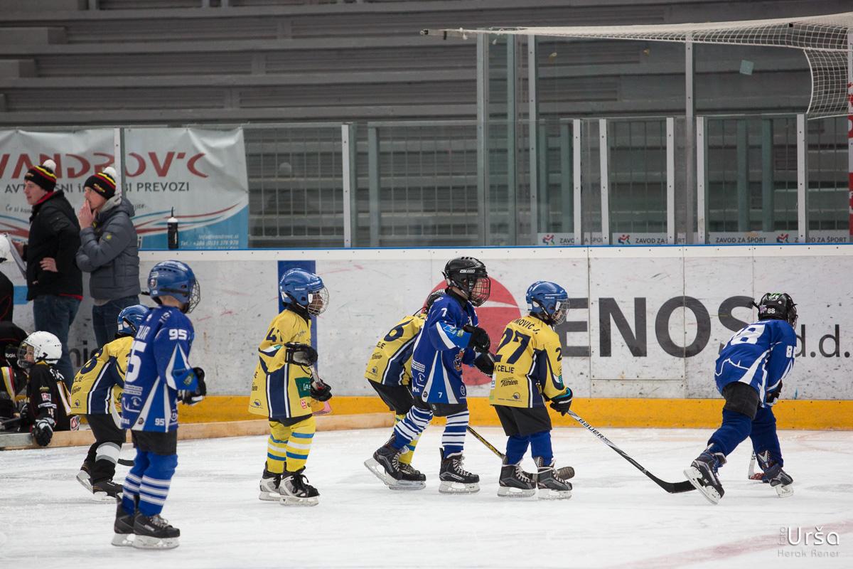 Turnir malčkov U8 in U10 na Jesenicah