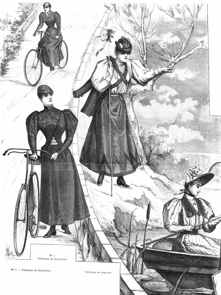 Costume de touriste 1893