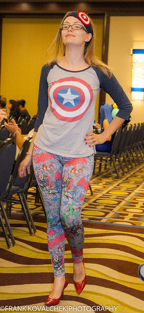 Model at the 2015 Phoenix Comicon Geeks and Chic Fashion Show