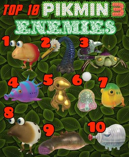Video Game Friday Top 10 Pikmin 3 Enemies Video Game Frid Flickr
