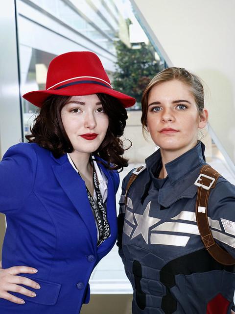 Peggy & Cap