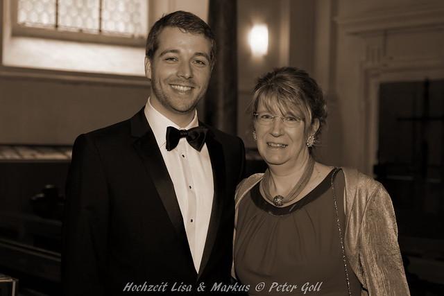 Hochzeit, Lisa, Markus, 2014