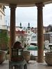 Karlovy Vary – výhled na Vřídelní kolonádu, foto: Petr Nejedlý