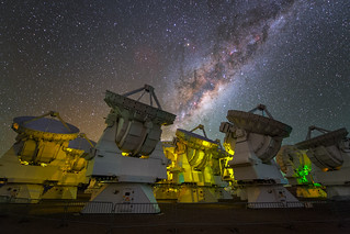 The Milky Way over ALMA | by European Southern Observatory