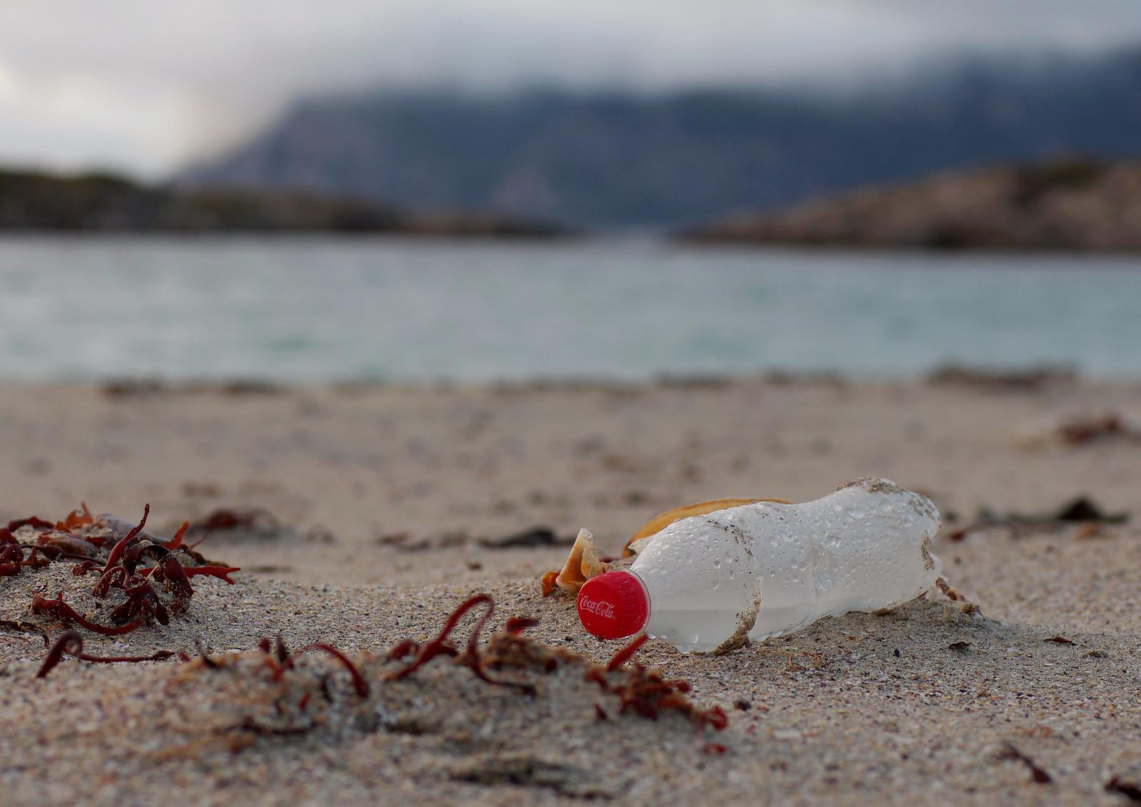 photo of plastic bottle