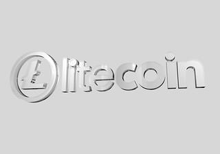 Litecoin Logo3D