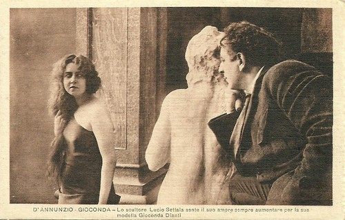 Lucio Settala and Helena Makowska in La Gioconda (1917)