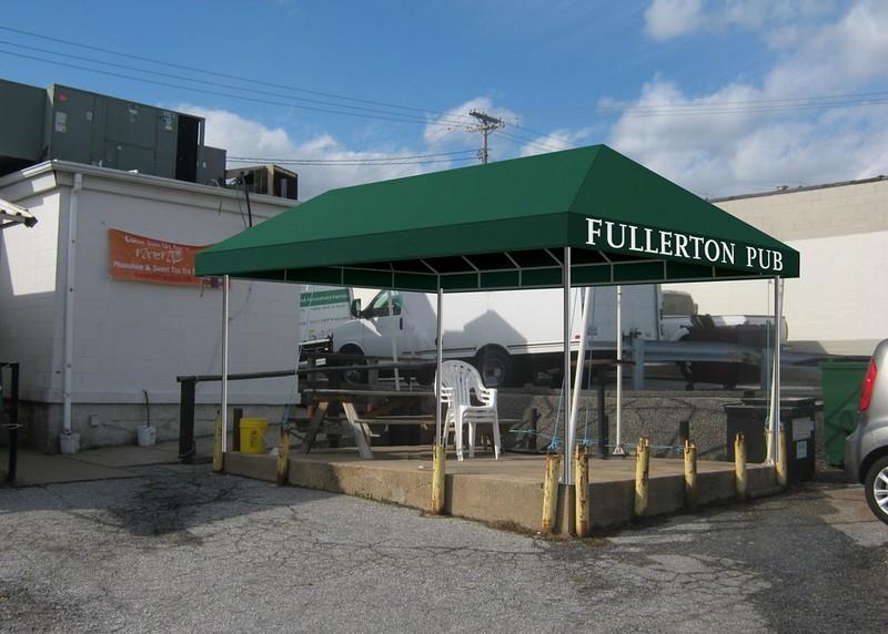 Fullerton Pub Gazebo
