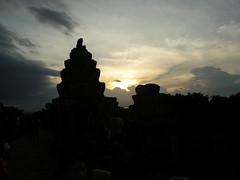 Sunset at Phnom Bakheng Angkor Thom - 37