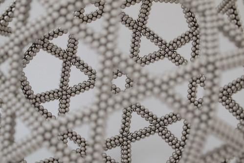 Large Intersecting Pentagons Truncated Icosahedron Variation