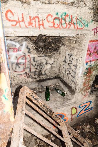 Niche entrée souterrain | by Bernard Ddd