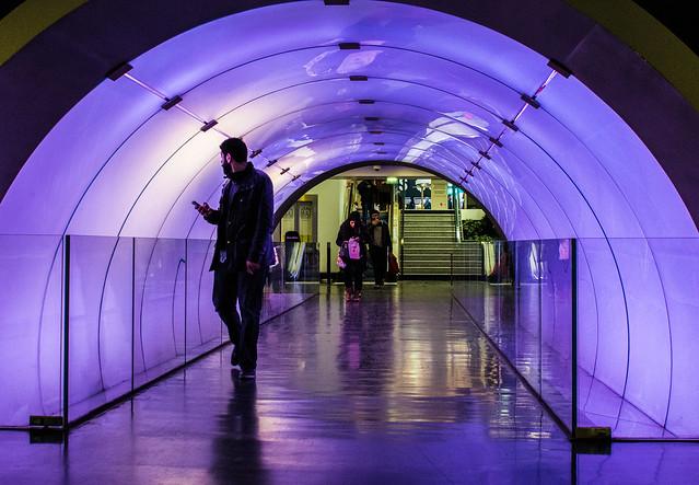 space metro purpel