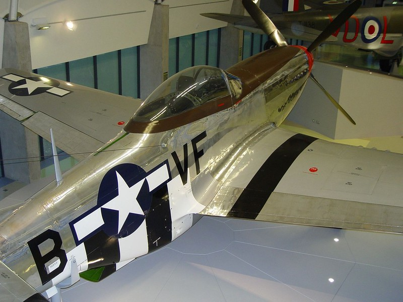 Североамериканский P-51D Mustang 5