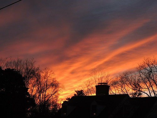 beautiful gorgeous sublime orange virginia lynchburg sunset color