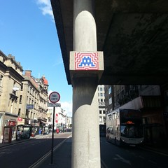 Invader in Newcastle