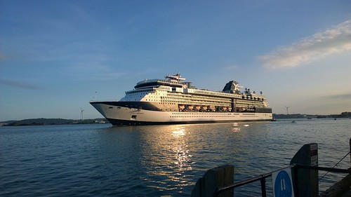 Celebrity Infinity leaving Cobh. | by despod
