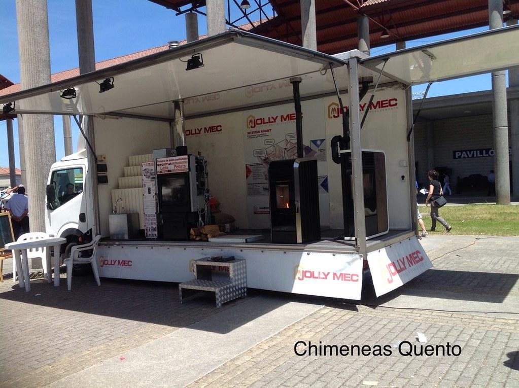 Camion expositor Jolly Mec en feria semana verde 2014