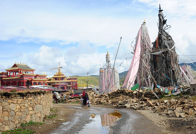 Monastery of Dungkar Gön, Tibet 2013