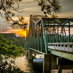 Browns Bridge Sunset