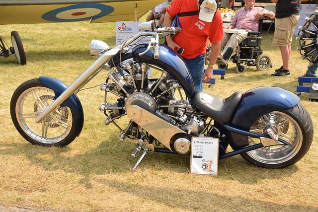 EAA2014Fri-0228 motorcycle with radial engine