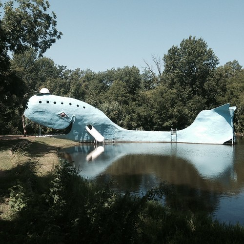 park oklahoma route66 historic roadsideattraction bluewhale catoosa