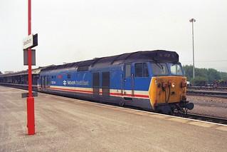 50044 'Exeter' NSE - Westbury - 25.05.89