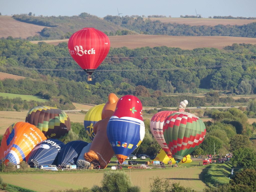 a pile of ballons
