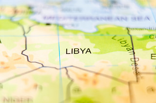 libya country on map | by DigiDreamGrafix.com