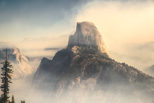 HALF DOME / STATUS POST FIRE | by Brendan T Lynch