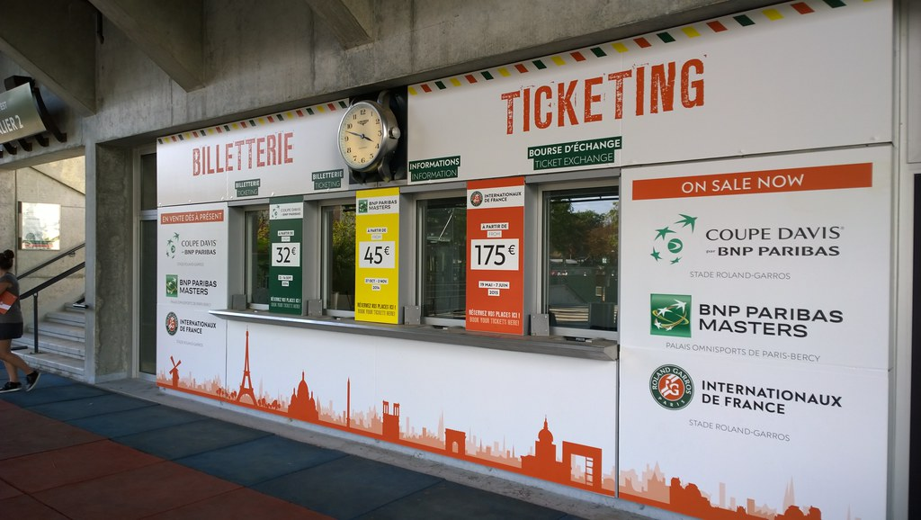 Ticketing booth