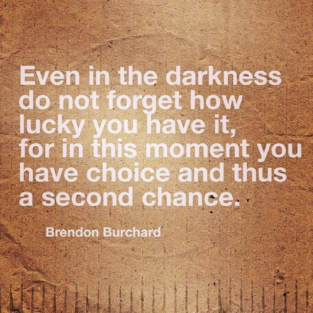 Never give up and take your second chance! #quote #quotes
