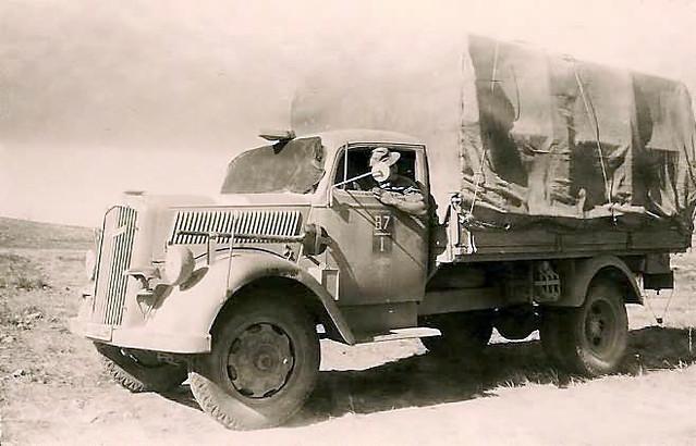 Afrika Korps Opel Blitz