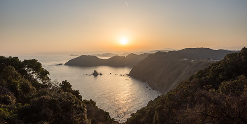 6d susaki ocean sunset coast hdr canon outdoor hills evening japan kochi canon70200f4is